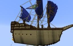 Airship warship thing Minecraft Map & Project