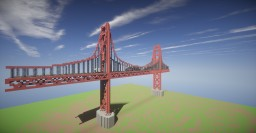 Golden Gate Bridge Minecraft Project