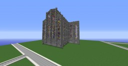 Cathedral under construction | Cattedrale in costruzione Minecraft Project