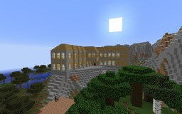 cliff mansion Minecraft Project