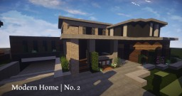 Modern House | No. 2 Minecraft Map & Project