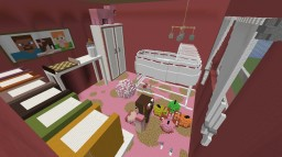 Baby Girl's Room Minecraft