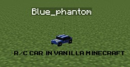 Minecraft R/c car in vanilla with two command blocks Minecraft