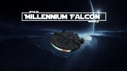 Starwars - Millennium Falcon (With Interior) Minecraft Map & Project
