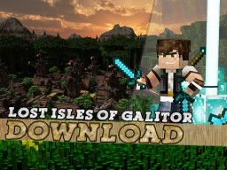 Lost Isles Of Galitor - Jeracraft Minecraft Map & Project