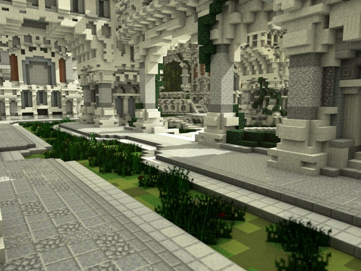 Greek Sanctuary A Faction Spawn Minecraft Project