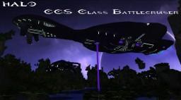 (Halo 3) CCS-class battlecruiser Minecraft