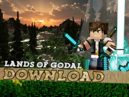 Lands of Godal! - Don't Miss This Custom Map! Minecraft
