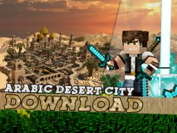 Desert City of Alkazara! Minecraft Project