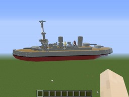 Battleship Steve Minecraft Map & Project