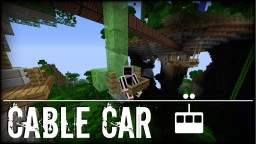 Simple Cable Car Minecraft Map & Project