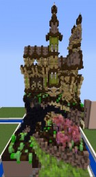 Alien/Fantastic Plot on Creative Blocks server Minecraft Project