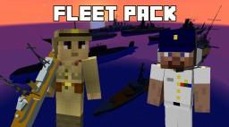 Fleet Pack 1.0 - Flan's mod content pack Minecraft Mod