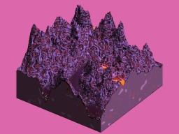 Nyx - A Alien Terrain Minecraft