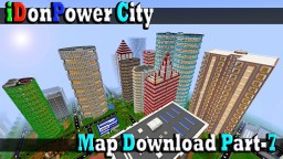 Minecraft iDonPower City Map Download Part-7 Minecraft Project