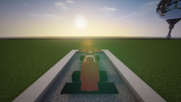 F1 car made with armorstands in vanilla Minecraft Project