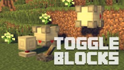 Toggle Blocks Minecraft Mod