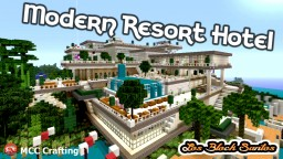 LBS City Los Block Santos Modern Hotel Resort Amusement Water Park PS3/PS4/CONSOLE Minecraft Map & Project