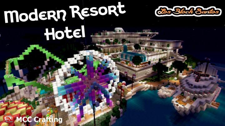 LBS City Los Block Santos Modern Hotel Resort Amusement Water Park
