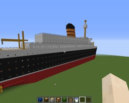 RMS Saxonia Minecraft Map & Project
