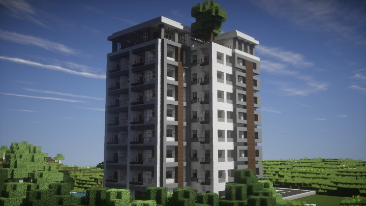 Minecraft Commercial Building