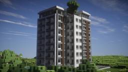Modern Luxury High Rise Building Minecraft Project
