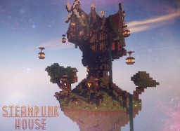 [Steam punk house] made by soony753 Minecraft Map & Project