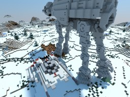 T47 Airspeeder STAR WARS Minecraft