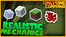 Realistic Mechanics in one command! (More Realistic Minecraft) Minecraft