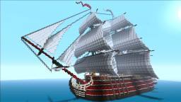 Ship of the line [ Santa Amelia ] Minecraft Map & Project