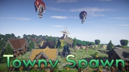 Towny / Survival Spawn Map | 1.7-1.8 Minecraft Project
