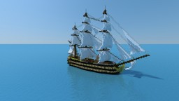 3rd Rate Ship Of The Line Minecraft Map & Project