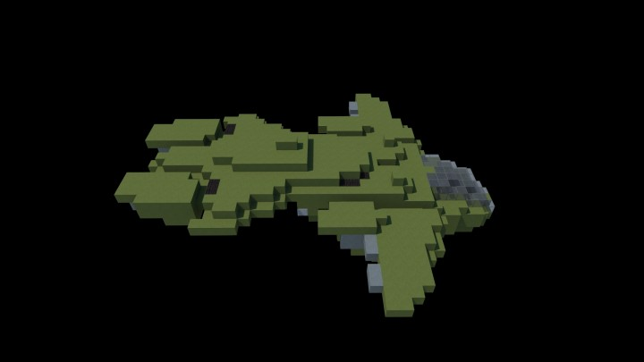 how to make a unsc pelican in minecraft