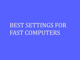 BEST MINECRAFT SETTINGS FOR FAST COMPUTERS Minecraft Blog Post