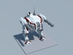 TTC: Vulcan Class Heavy Battlemech Minecraft Map & Project