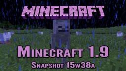 Minecraft Snapshot 15w38a | 'Skeletal Update' Minecraft Blog Post