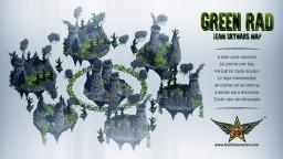 Green Rad - Radioactive Team Skywars Minecraft Map & Project