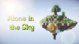 Alone in the Sky [1.8] {SkyMap} Minecraft Map & Project