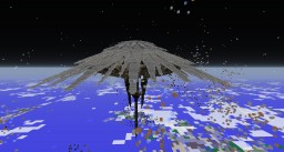 The world covered the outer shell Minecraft Project