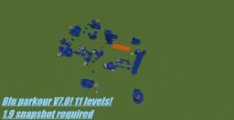 Blu parkour V7.0! Minecraft Project