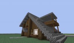 Modern-Nordic House #1 Minecraft Project