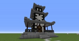 Japanese Inspired Tower Minecraft Map & Project