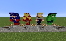 Avengers Texture Pack HD Minecraft