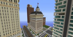 1900s Beaux-Arts Architecture City Hotel Minecraft Map & Project