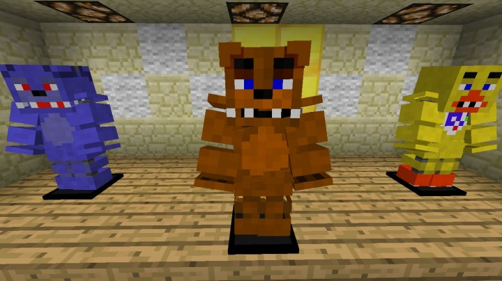 Fnaf 1 resource pack minecraft texture pack