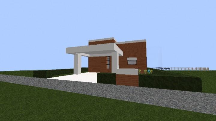 Minecraft casa moderna minecraft project for Casa moderna 2015 minecraft