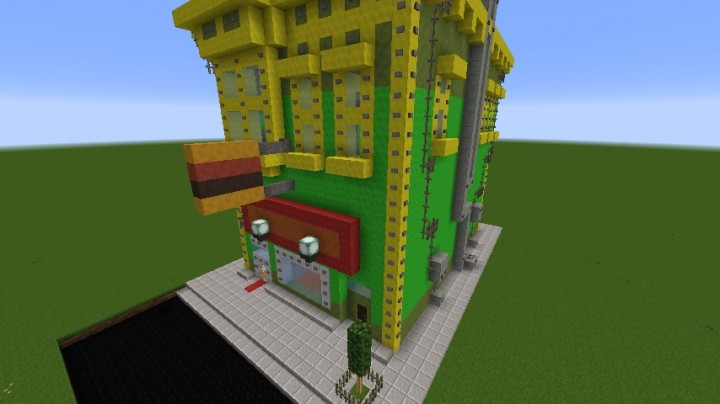 Minecraft Bob S Burger Minecraft Project