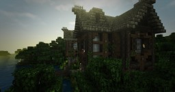 Medieval House (Conquest Test build) +Timelapse! Minecraft
