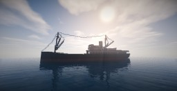 S.S. Venture (King Kong) Minecraft Project