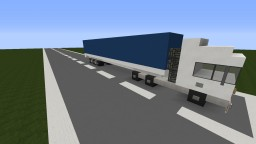 Volvo FH16 and trailer Minecraft Map & Project